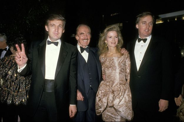 Donald Trump, Fred Trump, Blaine Trump et Robert Trump