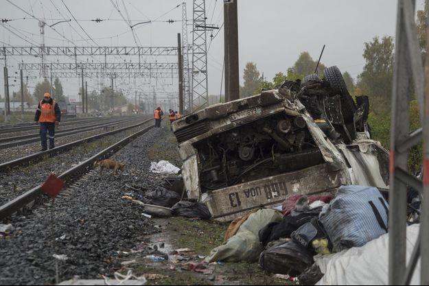 Accident de car en Russie