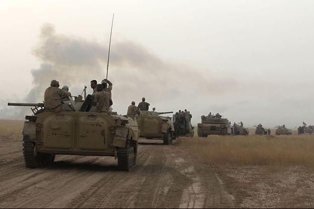 Illustration armée russe le 21 septembre 2017 en Irak