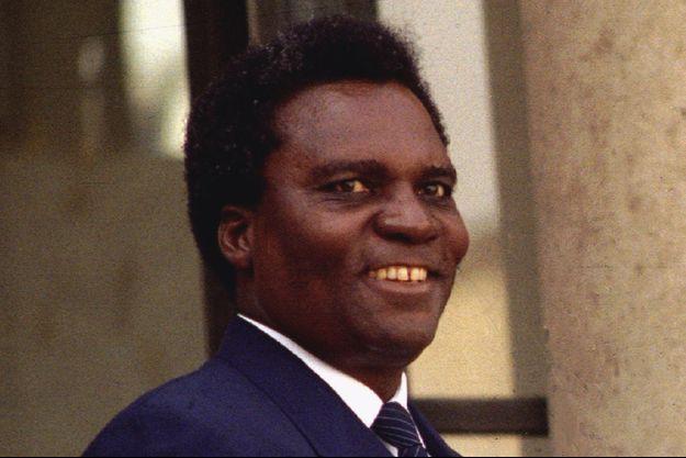 Le président du Rwanda Juvénal Habyarimana, tué dans l'attentat du 6 avril 1994