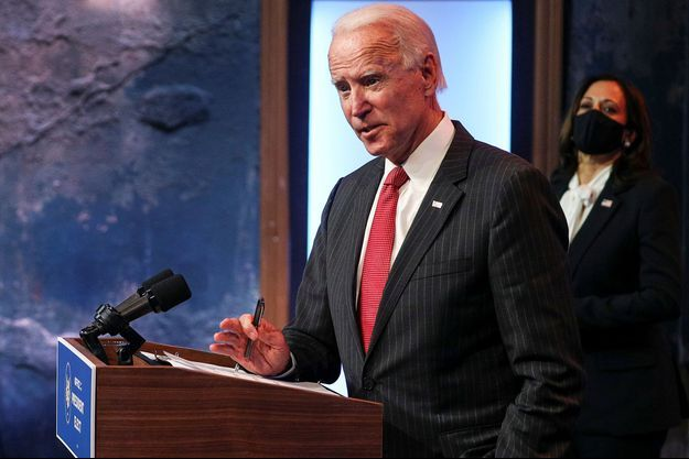 Joe Biden le 19 novembre 2020.