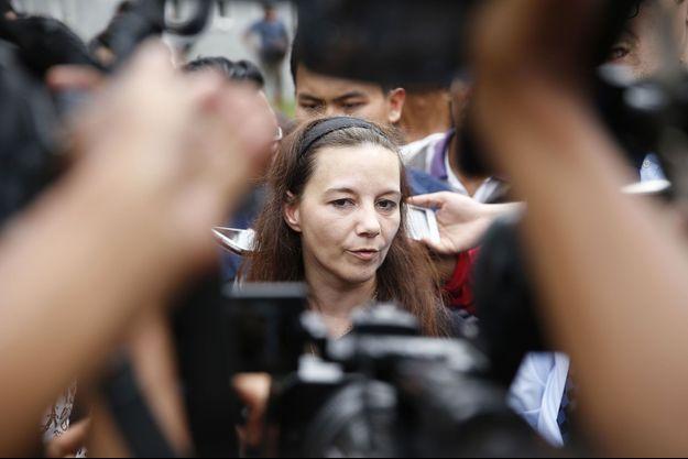 Sabine Atlaoui, le 5 mars dernier.