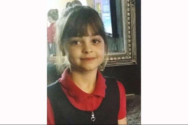 Saffie Rose Roussos, 8 ans, est morte durant l'attentat de la Manchester Arena lundi.