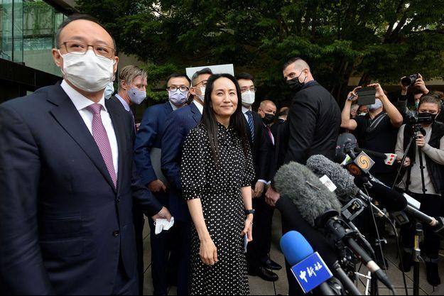 """La """"princesse"""" de Huawei a enfin quitté le Canada."""