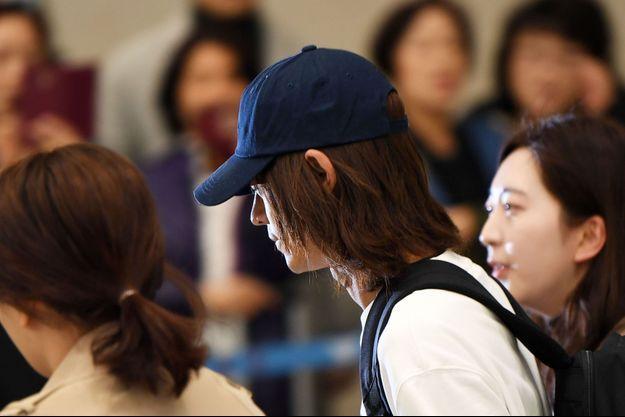 Jung Joon-young, le 12 mars 2019.