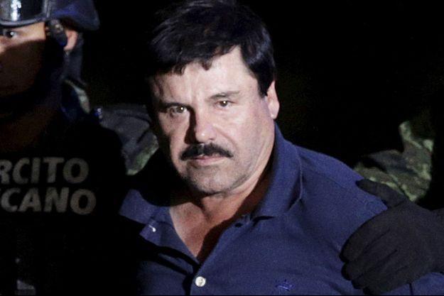 El Chapo a été arrêté vendredi dans un hôtel de l'Etat de Sinaloa.
