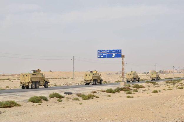 Armée égyptienne dans le Sinaï, le 27 février 2018