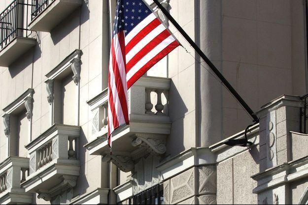 Ambassade des Etats-Unis à Belgrade.