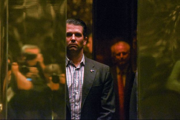 Donald Trump Jr à la Trump Tower.