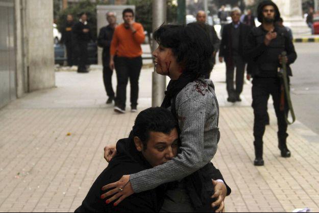 Shaïmaa al-Sabbagh, abattue lors d'une manifestation au Caire samedi.