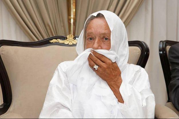 Sophie Pétronin après sa libération, au Palais présidentiel de Bamako, au Mali, le 9 octobre 2020.