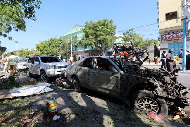 Image d'illustration. Ici une attaque à la voiture piégée en mars dernier en Somalie.