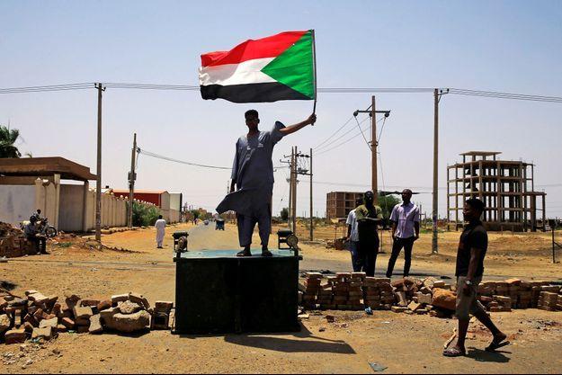 Photo prise à Khartoum, au Soudan.