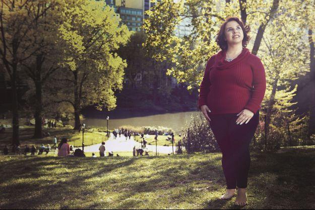 Le 5 mai 2014 à Central Park, à New York, un an jour pour jour après sa libération. Une touriste qui retrouve la joie de vivre: Michelle, 33 ans, vit toujours à Cleveland.