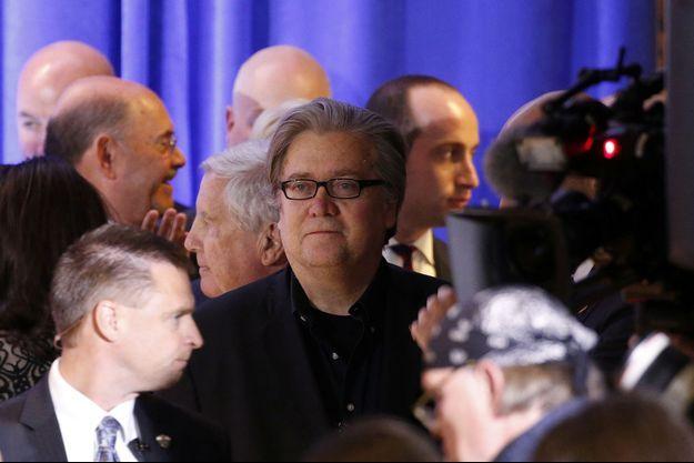 Steve Bannon, le haut conseiller et chef de la stratégie de Donald Trump.