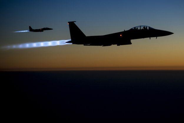 Des avions de l'US Force dans le ciel irakien (Image d'illustration).