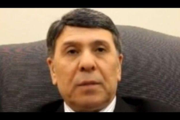 Abdo Houssameldine, sur une image extraite de la vidéo qu'il a publiée sur YouTube.