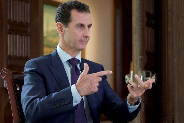 Le président syrien Bachar el-Assad, le 6 octobre.