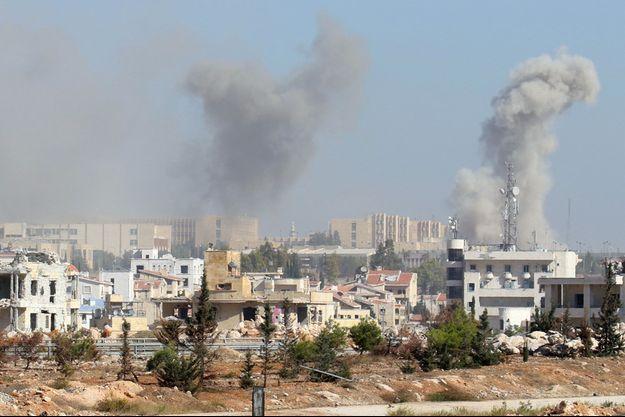 Alep, le 3 novembre.