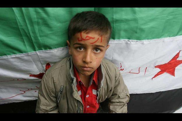 Un réfugié syrien au Liban.