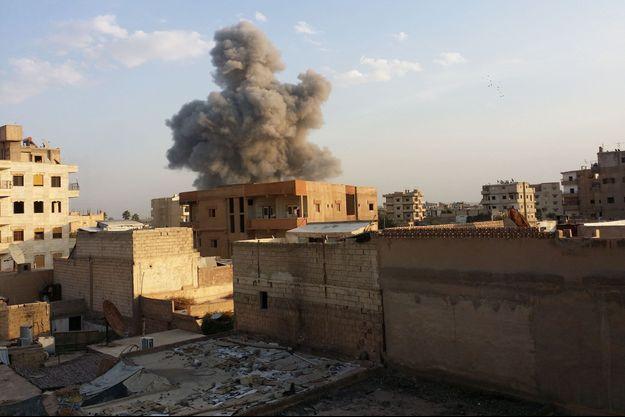 La ville de Raqa est la capitale officieuse de l'Etat islamique (photo d'illustration)