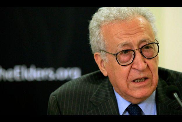 Lakhdar Brahimi.