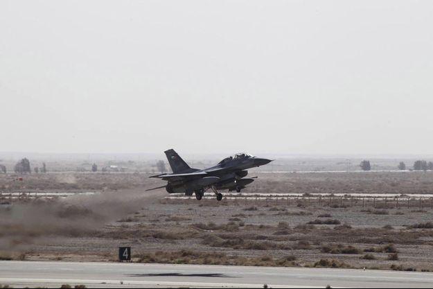 Des avions de l'armée jordanienne font partie de la coalition.
