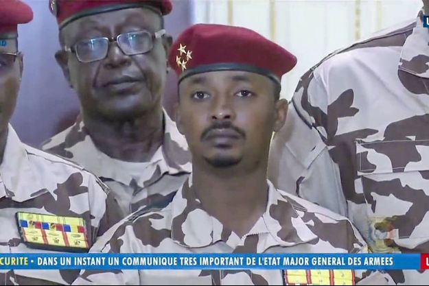 Le général Mahamat Idriss Déby, un des fils du défunt président tchadien.