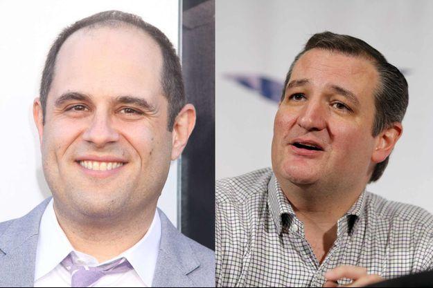 Craig Mazin et Ted Cruz.