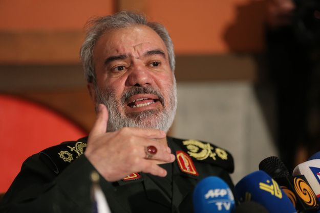 Ali Fadavii, commandant en chef adjoint des Gardiens de la Révolution.