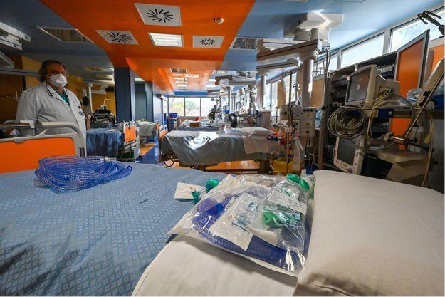 Hôpital de Casal Palocco en Italie.