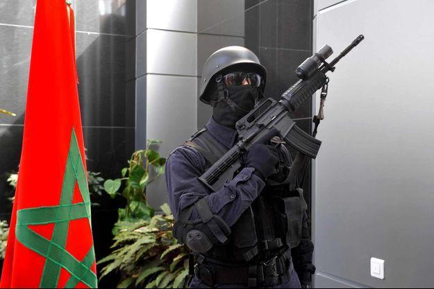 Policier Maroc