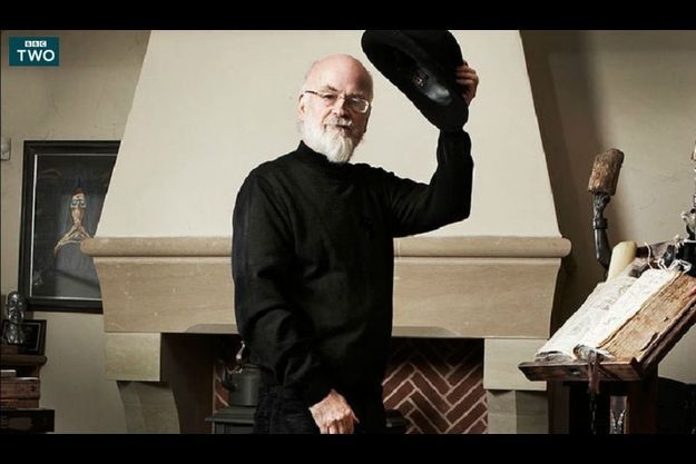 L'écrivain, réalisateur du documentaire, Terry Pratchett