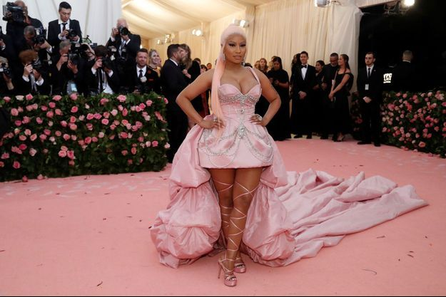 Nicki Minaj au gala du Met, en mai 2019.