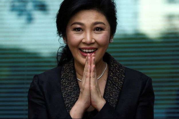 L'ex-Première ministre thaïlandaise Yingluck Shinawatra.