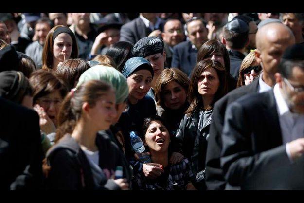 Un millier de personnes sont rassemblées à Jérusalem.