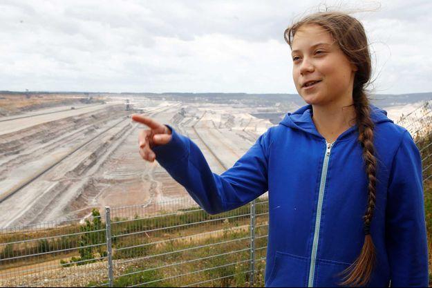 Greta Thunberg en Allemagne, en août dernier.