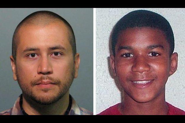 George Zimmerman et Trayvon Martin.