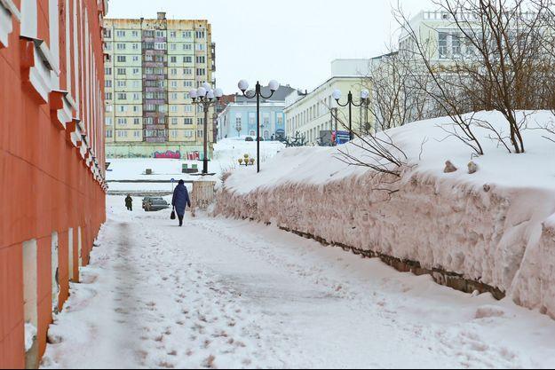 La ville de Norilsk en Russie.