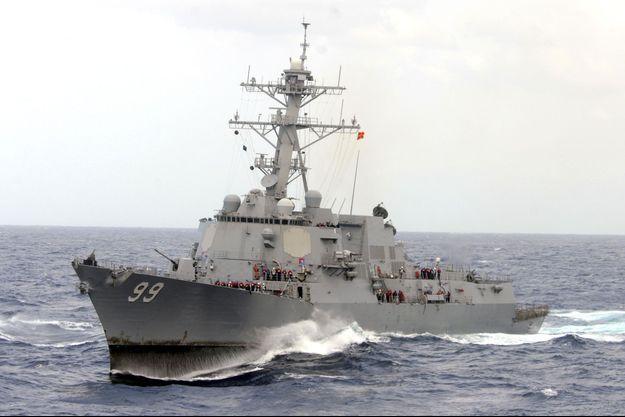 Un navire de l'armée américaine (image d'illustration).