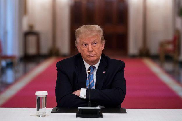 Donald Trump le 7 juillet 2020 à Washington.