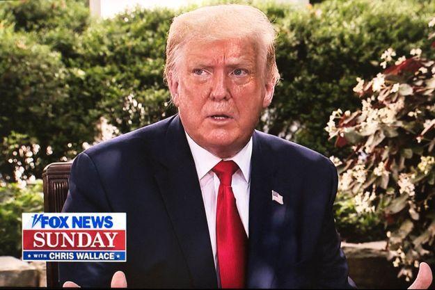 Donald Trump sur Fox News dimanche.