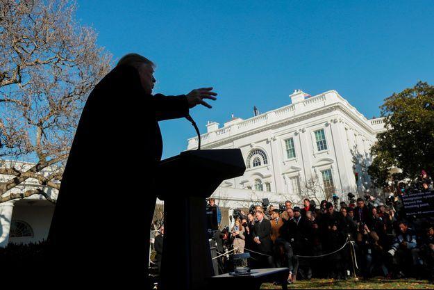 Donald Trump à la Maison-Blanche, vendredi dernier.