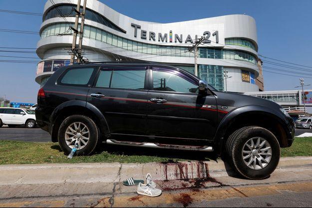 La plupart des victimes ont été tuées dans et autour du centre commercial