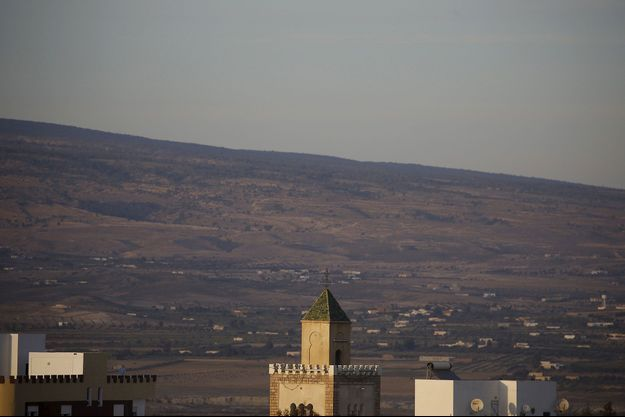 Une vue de la ville de Kasserine, non loin d'où l'opération antiterroriste a été menée par les militaires tunisiens.