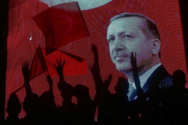 Les partisans de Recep Erdogan réunis à Ankara, la capitale administrative du pays