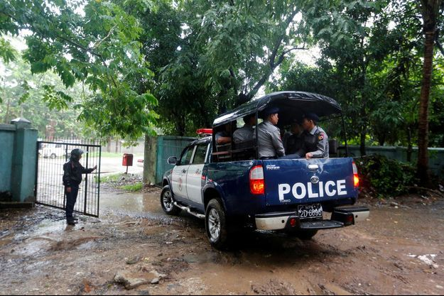 Police Birmanie
