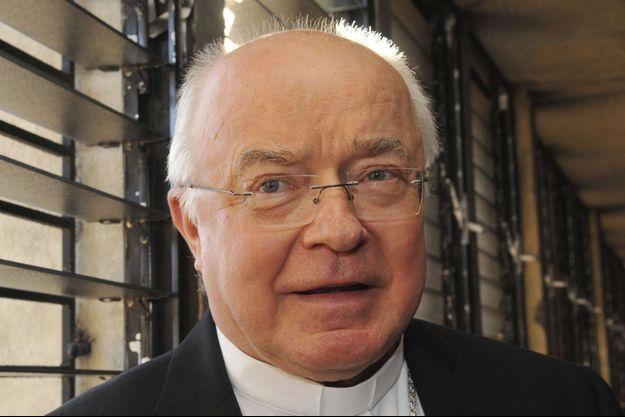 Josef Wesolowski, l'ancien archevêque accusé de pédophilie.