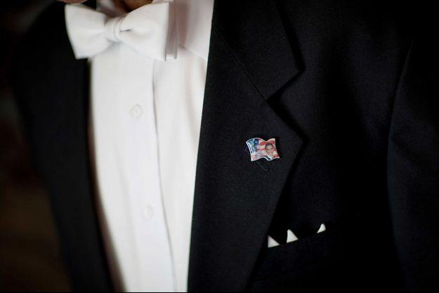 Wilson Roosevelt Jerman avait porté un pin's à l'image de Barack Obama.