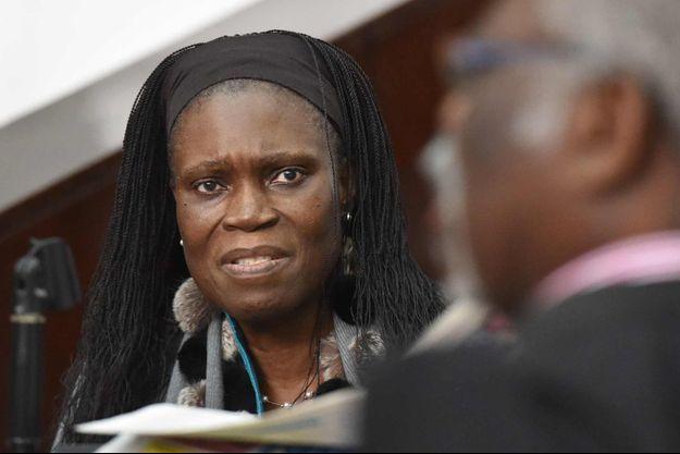 Simone Gbagbo à son procès le 30 juin 2016 à Abidjian.